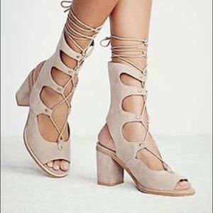 Jeffrey Campbell Lola lace up heels